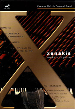 Xenakis: Works With Piano [DVD] <i>[Used Item]</i>