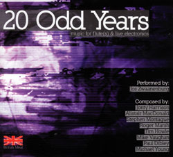 Zwaanenburg, Jos: 20 Odd Years: Music For Flute(s) & Live Electronics