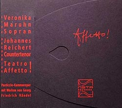 Maruhn / Reichert: Affetto! (Meta Records)