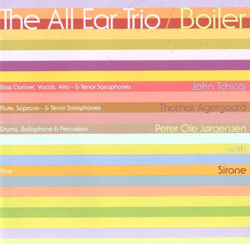 All Ear Trio, The : Boiler (Ninth World)