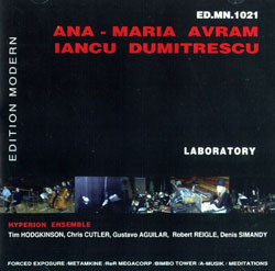Avram, Ana-Maria / Dumitrescu, Iancu: Laboratory (Edition Modern)