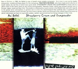 Belleli, Avi: Strawberry Cream and Gunpowder <i>[Used Item]</i> (Ad Hoc Records)
