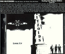 Blitzoids, The : Stealing from Helpless Children / Look Up (Ad Hoc Records)
