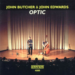 Butcher, John / Edwards, John: Optic (Emanem)
