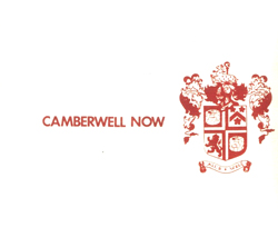 Camberwell Now: All's Well (Recommended Records)