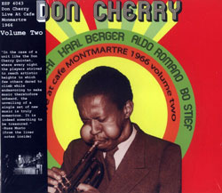 Cherry, Don : Live at the Cafe Montmartre 1966 Volume Two (ESP-Disk)