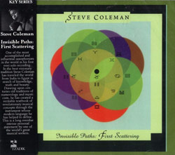 Coleman, Steve: Invisible Paths: First Scattering (Tzadik)