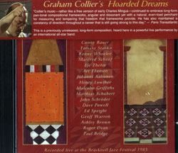 Collier, Graham: Hoarded Dreams (Cuneiform)