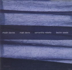 Davies, Rhodri / Davis, Matt / Rebello, Samantha / Saade, Bechir: Hum (Another Timbre)