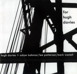 Davies  / Bohman / Patterson / Wastell: For Hugh Davies (Another Timbre)