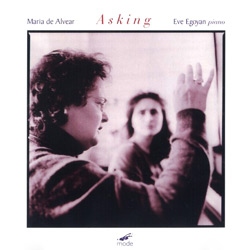 De Alvear, Maria: Asking
