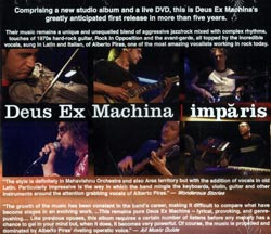 Deus Ex Machina: Imparis [CD + DVD]
