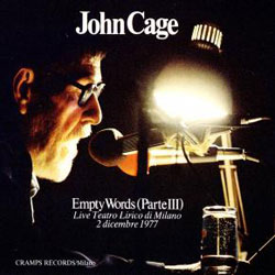 Cage, John: Empty Words (Part III) [VINYL 3 LP BOX SET]