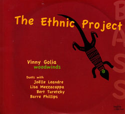 Golia / Phillips / Leandre / Turetzky / Mezzacappa: The Ethnic Project (Kadima)
