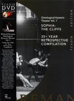 Foreman, Richard : Ontological-Hysteric Theatre Vol. 1 - Sophia: The Cliffs / 35+ Year Retrospective