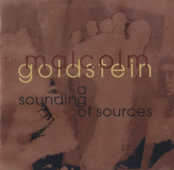 Goldstein, Malcolm : A Sounding of Sources
