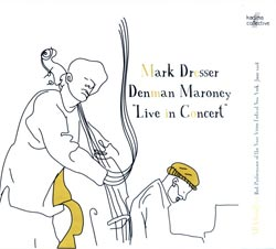 Mark Dresser / Denman Maroney: Live in Concert (Kadima Collective)