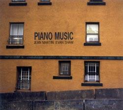 Martin, Jean & Evan Shaw: Piano Music (Barnyard)