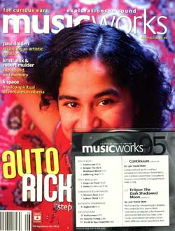 MusicWorks: #96 Fall 2006 with CD