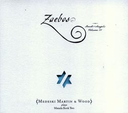 Medeski Martin & Wood: Zaebos: The Book of Angels Volume 11