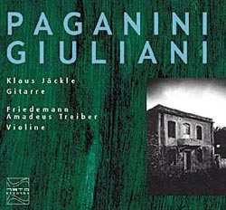 Jackle, Klaus: Paganini, Giuliani (Meta Records)