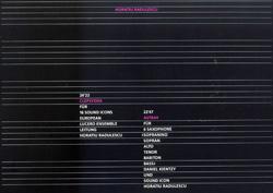 Radulescu, Horatiu: Clepsydra / Astray [VINYL] (Edition Rz)