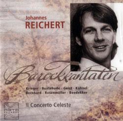 Reichert, Johannes: Barockkantaten (Meta Records)