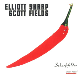 Sharp, Elliott / Fields, Scott: Scharfefelder (Clean Feed)