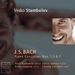 Stambolov, Vesko: J.S. Bach Piano Concertos (Meta Records)