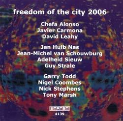 Various Artists: Freedom of the City 2006 (Emanem)