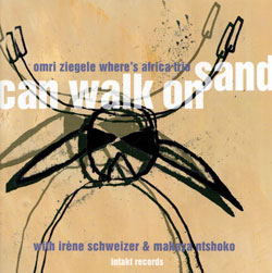 Ziegele, Omri: Can Walk On Sand (Intakt)
