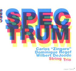 Zingaro / Regef / DeJoode String Trio: Spectrum (Clean Feed)