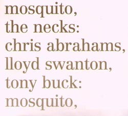 Necks, The: Mosquito / See Through