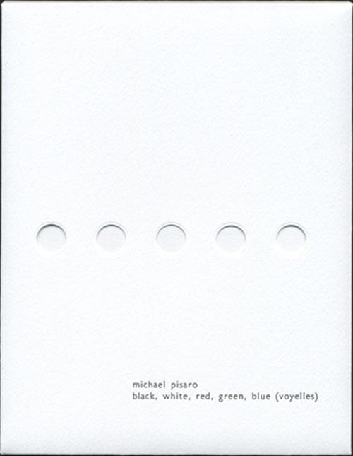 Pisaro / Chabala: Black, White, Red, Green, Blue (Voyelles) [2 CDs] (Winds Measure Recordings)