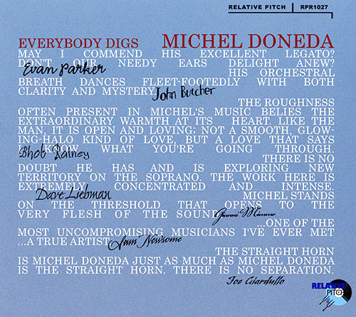 Doneda, Michel : Everybody Digs Michel Doneda (Relative Pitch)