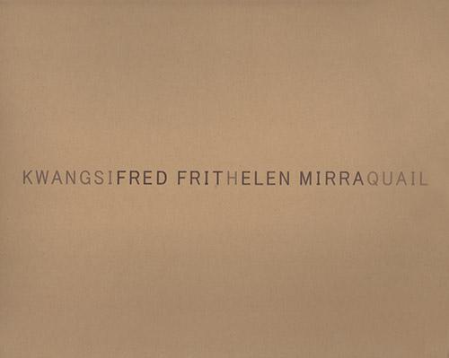 Frith, Fred And Helen Mirra: Kwangsi - quail [VINYL] (Shhpuma)