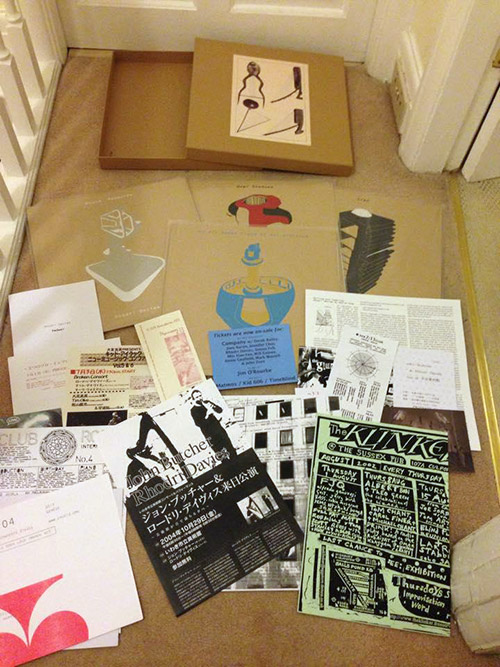 Davies, Rhodri: Pedwar  [BOX SET, 4 LPs + INSERTS] (Alt.Vinyl)