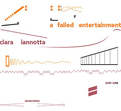 Iannotta, Clara    : A Failed Entertainment.  Works 2009-2014 (Edition Rz)