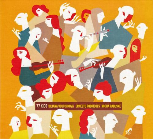 Voutchkova, Biliana / Ernesto Rodrigues / Micha Rabuske: 77 Kids (Creative Sources)