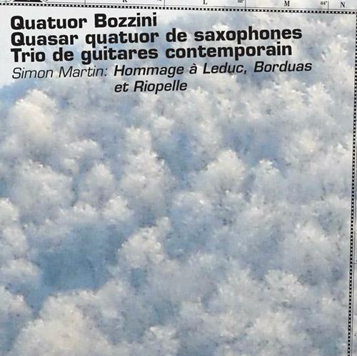Martin, Simon (w/ Quasar, Bozzini Quartet, Trio de guitares contemporain): Hommage a Leduc, Borduas (Collection QB)