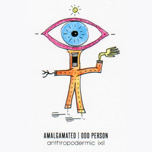 Amalgamated / Odd Person : Anthropodermic Ixii [CASSETTE] (Bicephalic)