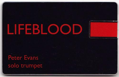 Evans, Peter: Lifeblood [USB Drive] (More Is More)