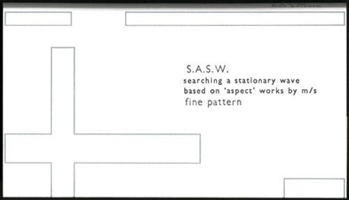 S.A.S.W: Fine Pattern [CASSETTE] (Winds Measure)