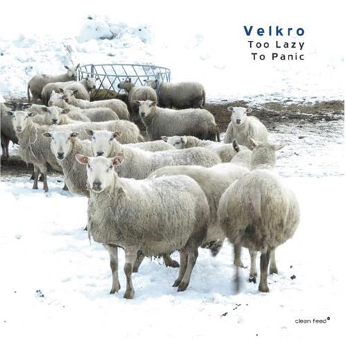 Velkro (Simon / Meidell / Candeias): Too Lazy to Panic (Clean Feed)