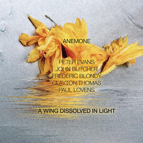 Anemone (John Butcher / Peter Evans / Frederic Blondy / Clayton Thomas / Paul Lovens): A Wing Dissol (NoBusiness)