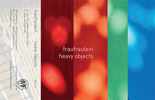 Fraufraulein: Heavy Objects [CASSETTE] (Marginal Frequency)