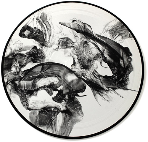 Gustafsson / Sandstrom / Werlin : This is From the Mouth [VINYL 1-SIDED PICTURE DISC] (Utech Records)