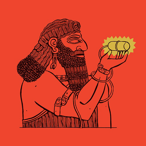 Zerang, Michael: Assyrian Caesarean [VINYL] (Holidays Records)