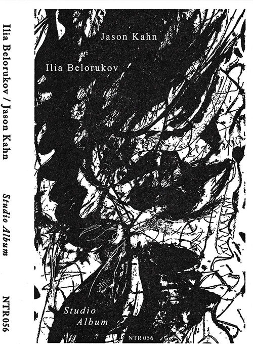 Belorukov, Ilia / Jason Kahn: Studio Album [CASSETTE + DOWNLOAD] (Notice Recordings)