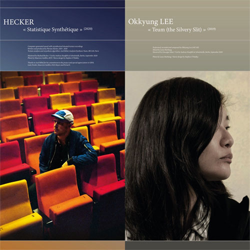 Hecker / Okkyung Lee: Statistique Synthetique / Teum (the Silvery Slit) [VINYL] (Portraits GRM)